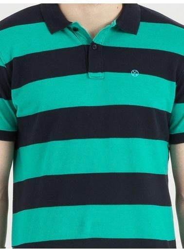 Loft Polo Yaka Tişört Yeşil
